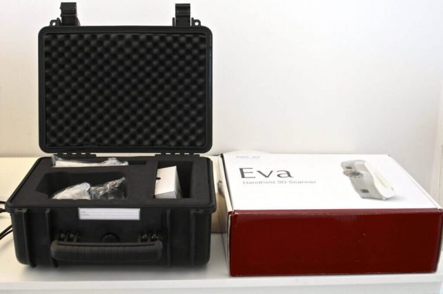 Featured image of Artec EVA 3D Scanner: The Fastest Way to Enter the 3D World