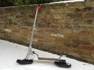 Looks like a lot of fun: a 3d printed snow scooter.