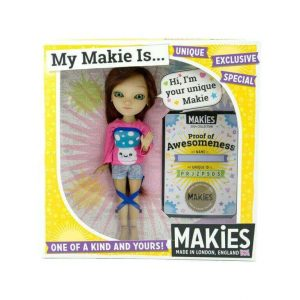 Every dolls is 3D printed in nylon and then assembled in the Makies factory in London's Shoreditch (image: Makies)