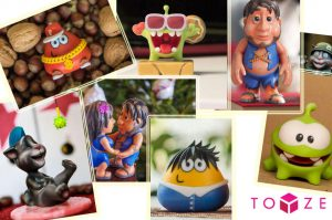 The Toyze App has been downloaded 350.000 time and 1 million models have been created (image: Toyze)