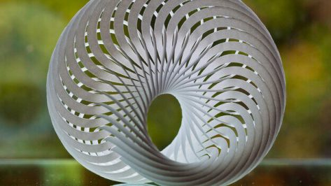 Featured image of 3D Printed Mobius Nautilus