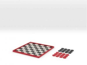 Soon 3D printed board games will also be smarter (image: Shapeways)