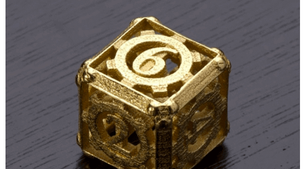 3D Printed Steampunk Dice | All3DP