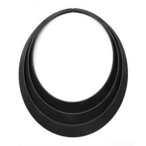 In the era of 3D printing, anyone can have a designer necklace inspired by Saturn's rings (image: .bijouets)