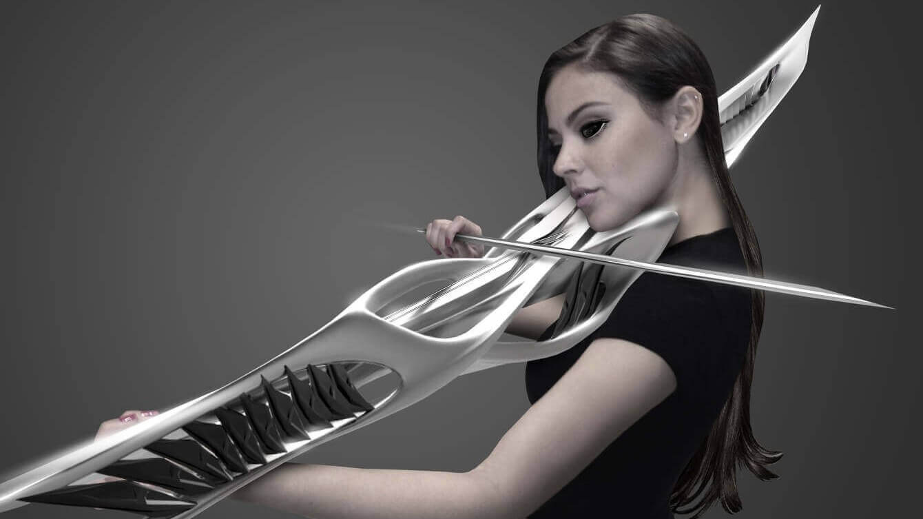 3D Printed Instruments: That' not a weapon, that's a violin | All3DP