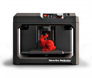 A high-end desktop 3D printer: Makerbot Replicator 5 (source: Makerbot)