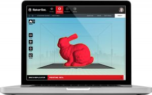 Integration of the online, software and mobile App based ecosystem is an invaluable asset (image: MakerBot)