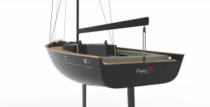 Livrea26 went from a digital desgin to a compelte physical prototype in just a few steps (image: LivreaYacht)