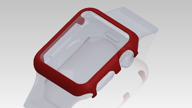 3D Printed Bumper Protects Your Precious Apple Watch | All3DP