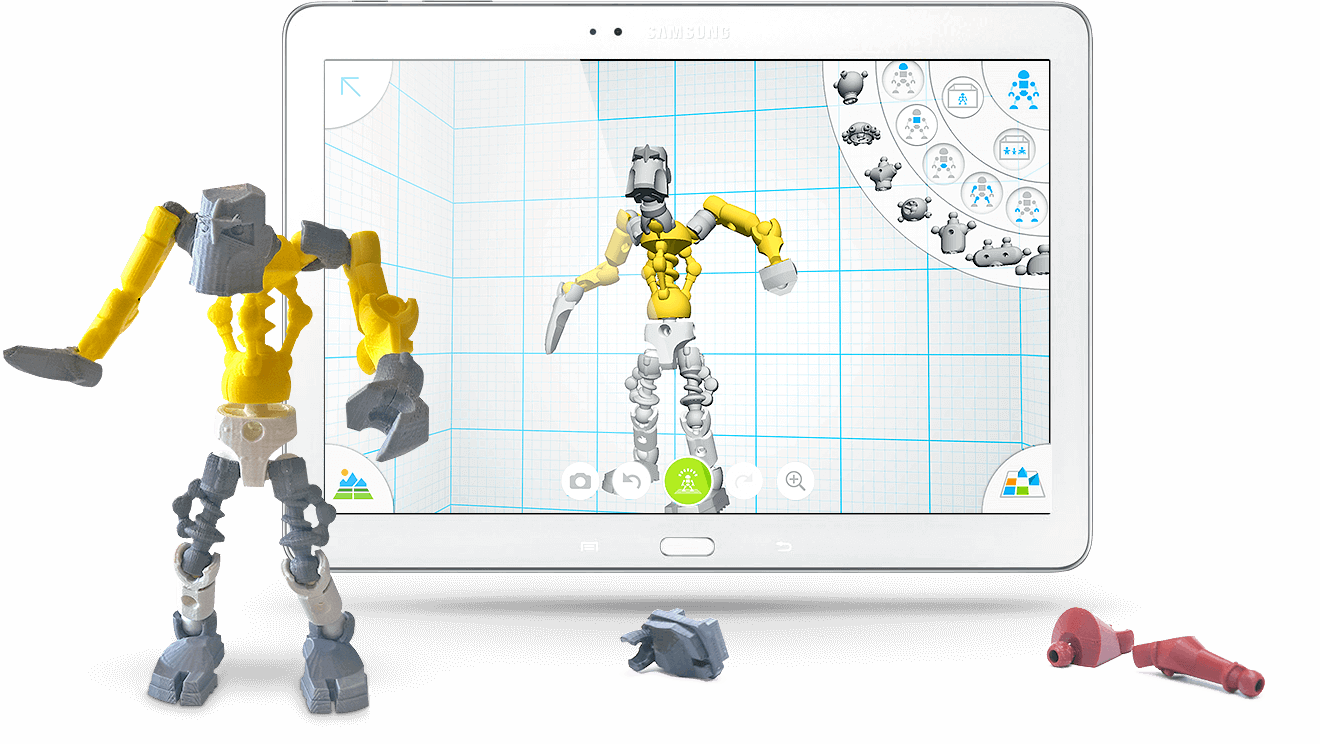 3D selfies evolve: Design your posable robot | All3DP