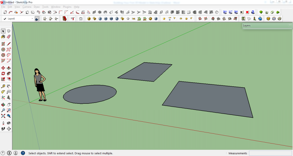 draw a cone in sketchup make