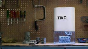 The unibody Tiko printer (source: Kickstarter)