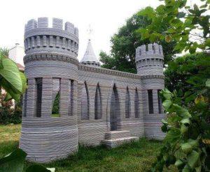 3D printed Concrete Castle (source: Totalkustom.com)
