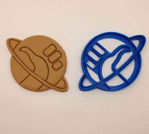 Hitchhiker's Thumb Cookie Cutter (source: Etsy)