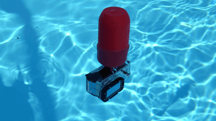 3D Printed GoPro Camera Floater | All3DP