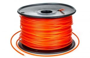 Plastic filament as used in 3D printing