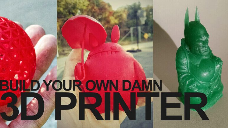 Image of Cheap DIY SLA Printer: Build Your Own D*mn 3D Printer