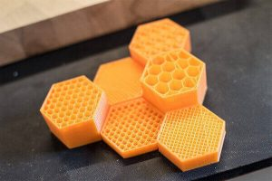 Infill can be customised in the print settings (source: Step3D)