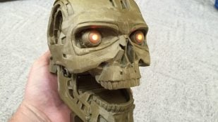 Featured image of Terminator Skull: 3D Print The Coolest Robot Skull