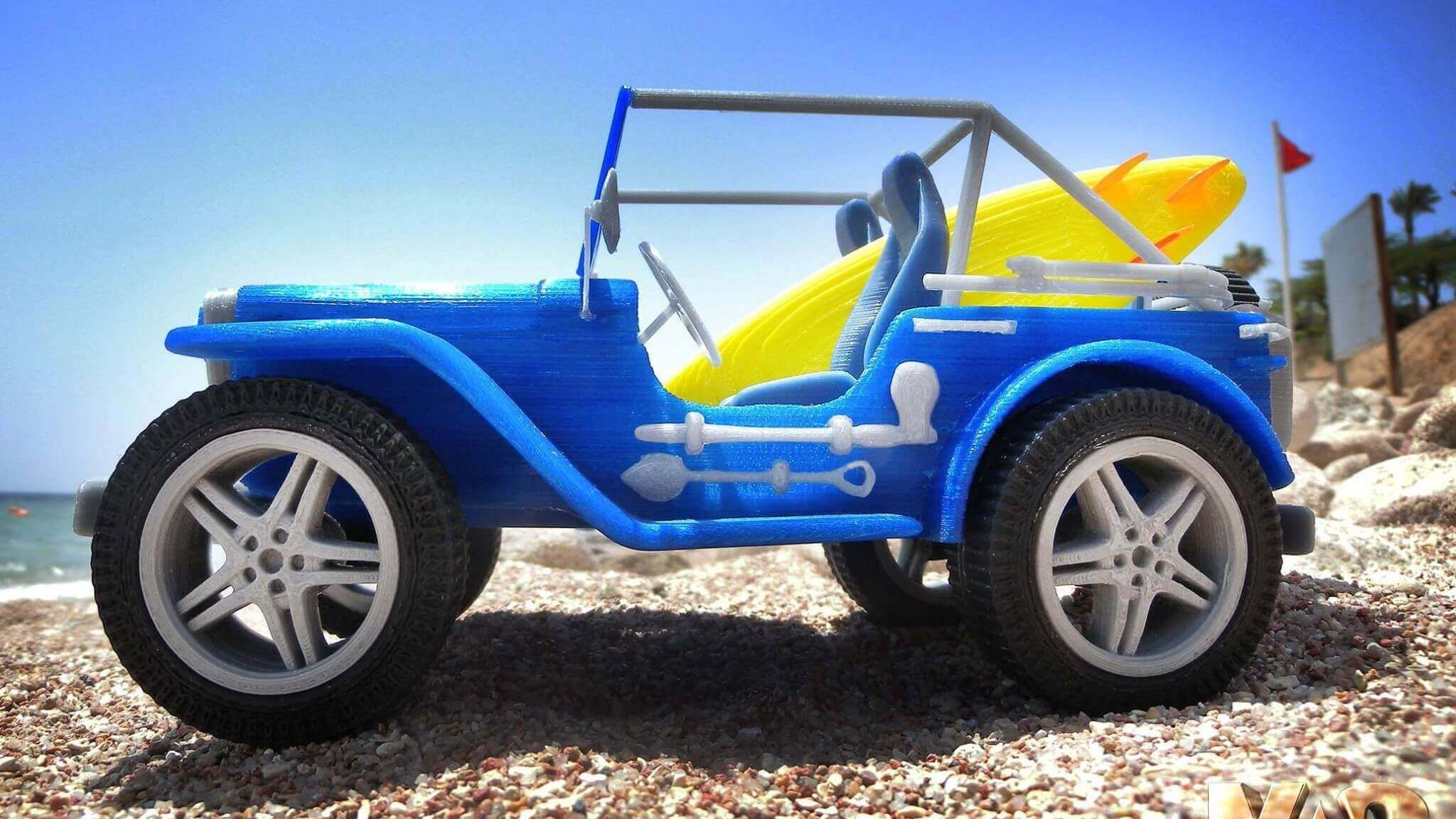 Stunning 3D Printed Car Replica for just $4,99 | All3DP