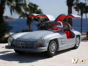 One of the most beautiful cars ever made: the Mercedes SL300 Gullwing