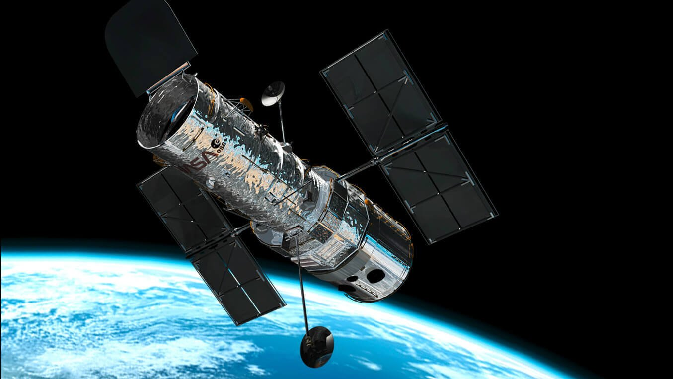 Hubble Space Telescope 25th Anniversary Model | All3DP
