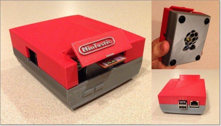 Image of Raspberry Pi NES Case: Nintastic