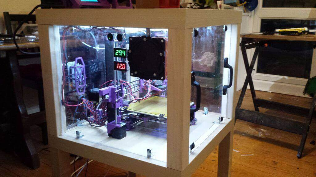 Build Your 3d Printer Enclosure From Upcycled Ikea