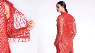 Featured image of 3D Printed Fashion: Designer Printed Her Entire Collection At Home