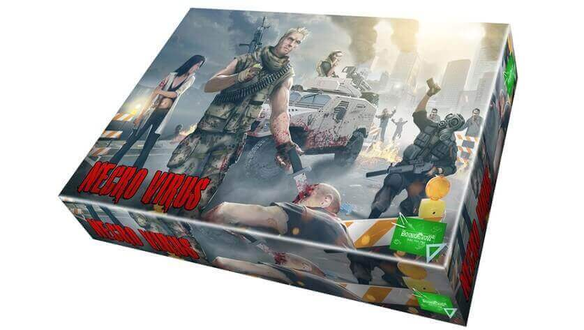 "Zombie Kickstarter Board Game from the ""Deus Ex"" Makers 