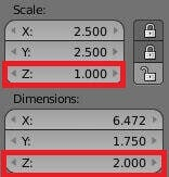 Extrude your text by changing the Z dimension.