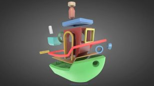 Featured image of 3DBenchy Updated for Dual-Print & Multi-part Assembly