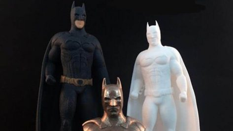 Featured image of 3D Printed Batman Figurines From Launzer
