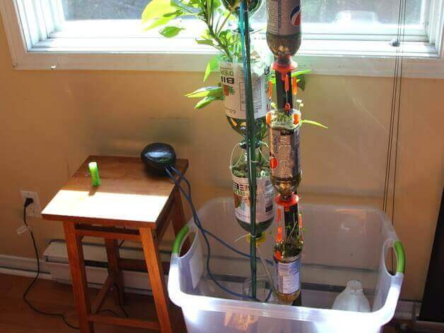3D Printed Hydroponics to Grow Vegetables (or Marijuana