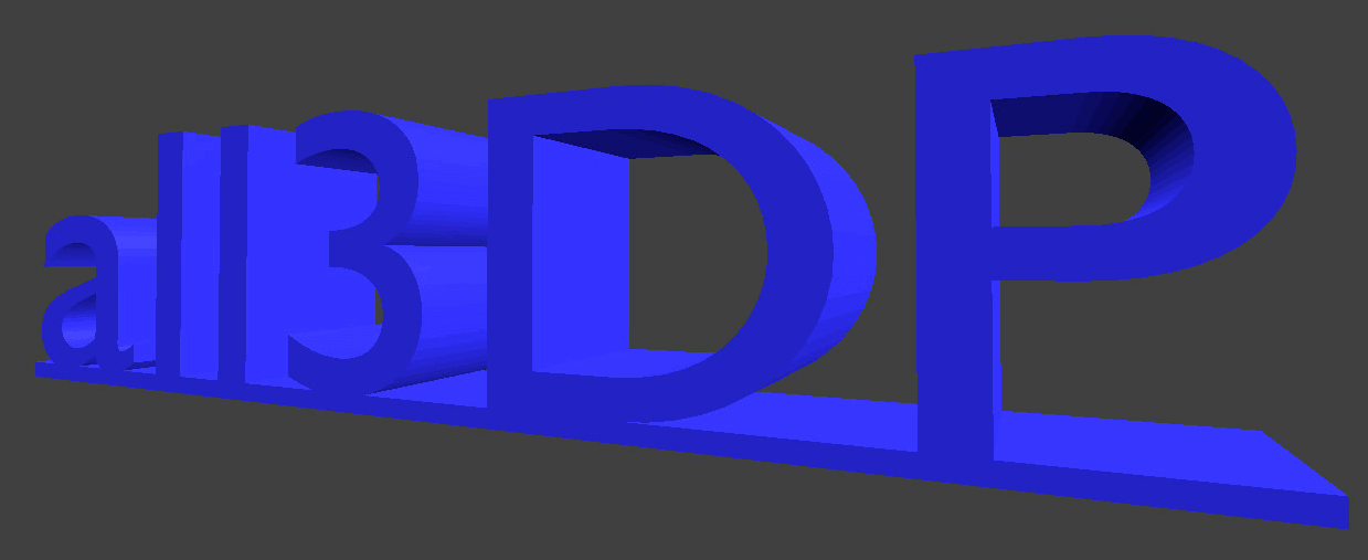 How to 3D Print Text Using Blender | All3DP