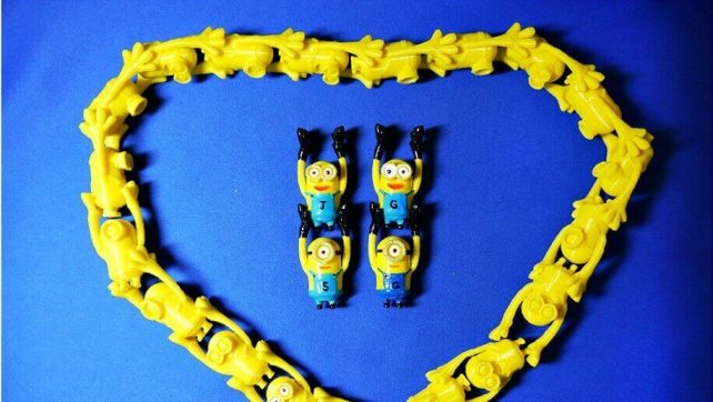 Featured image of 3D Printed Minions Linklings are Stacks of Fun