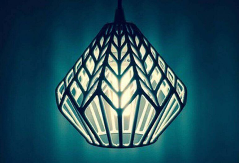 Image of 3D Printed Lamp Shades to DIY: LUX Lamp