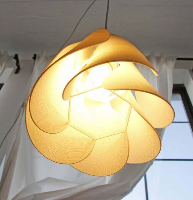 Image of 3D Printed Lamp Shades to DIY: Anna Flower Light