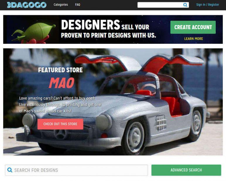 Image of Arquivos STL gratuitos e modelos de impressão 3D: 3Dagogo