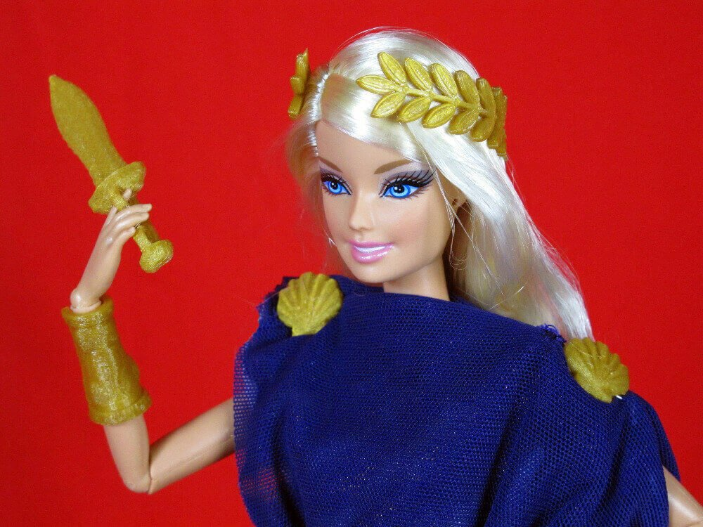 Give Barbie a great classic touch (image: Kickstarter)