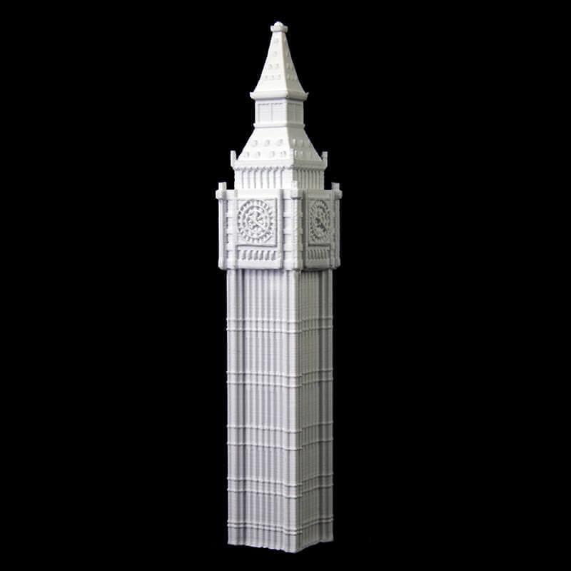 30 Wonders Of The World 3D Printed