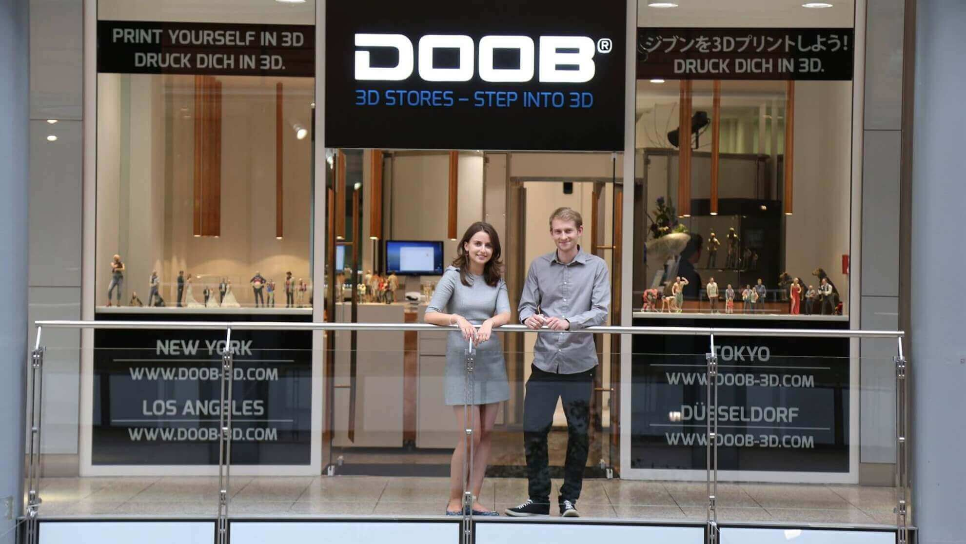 Doob Opens 3D Selfie Stores in Berlin, Barcelona, Sydney | All3DP