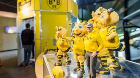 Featured image of 3D Selfies with BVB Borussia Dortmund Soccer Stars