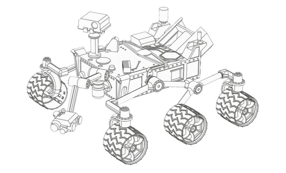 3d print a curiosity rover nasa has just released the files all3dp Futuristic Medical beware the detailled version is not exactly an easy build and requires some skill