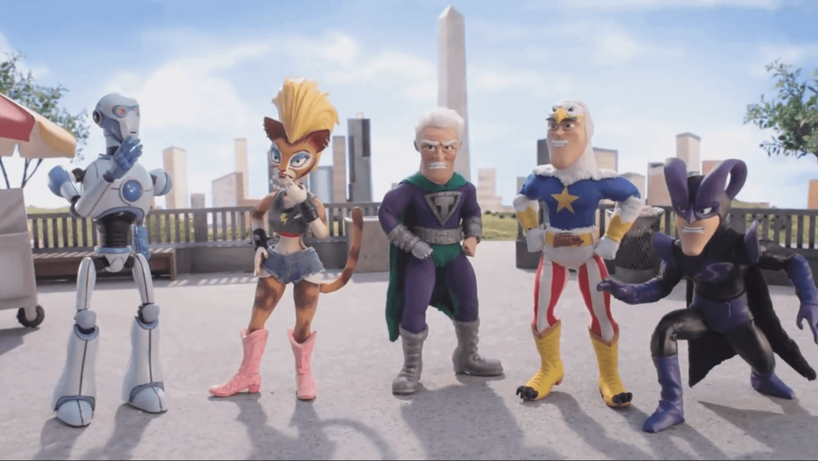 Animated Comedy SuperMansion is Made With 3D Printing | All3DP