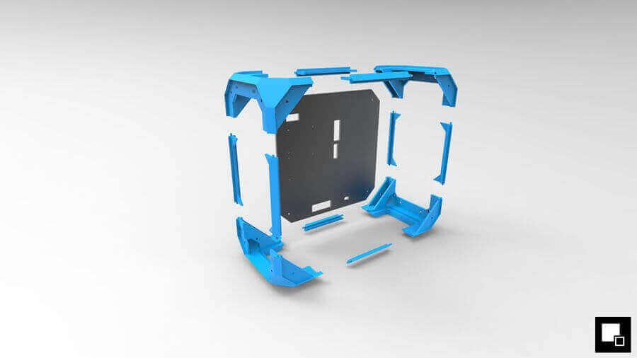 7 Cool Custom 3D Printed Computer Case Mods | All3DP
