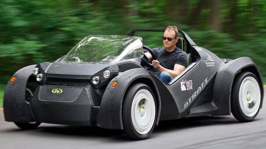 "Test Driving the ""Strati"", Local Motor's 3D Printed Car 