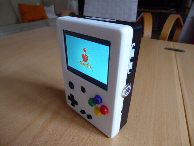 Image of RetroPie Case: Raspberry Pi Portable Game Station (Raspberry Pi Handheld Console)