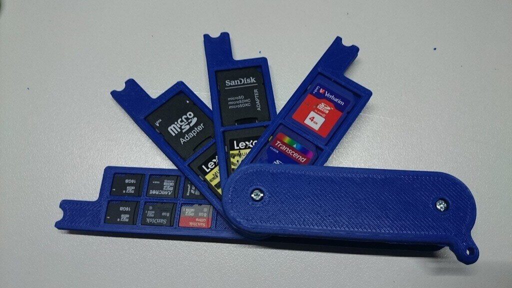 12 Awesome Diy Sd Card Holders Amp Sd Card Cases To 3d Print