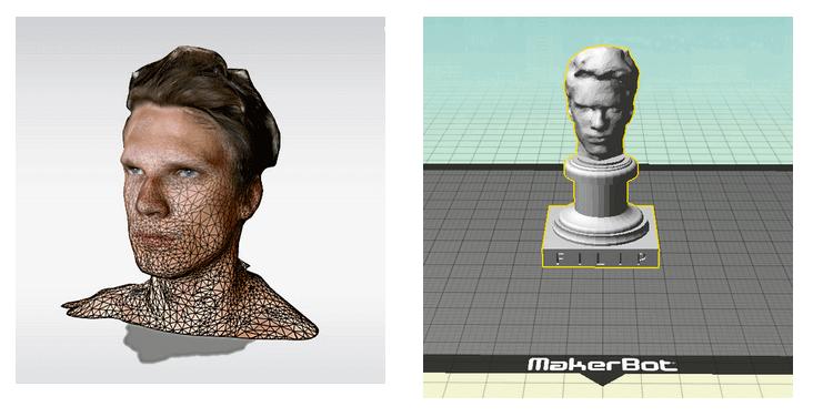 3D Selfie Plinth